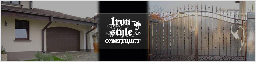 IRON STYLE CONSTRUCT Logo