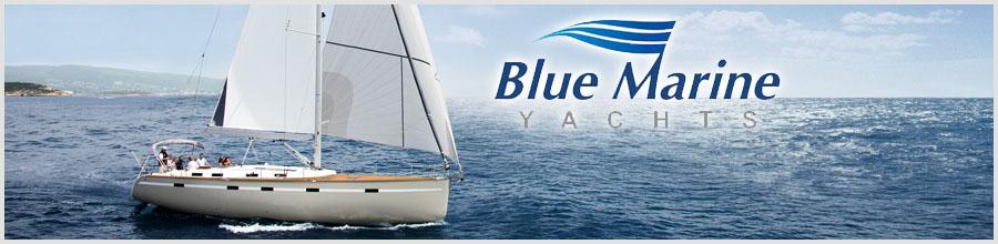 Blue Marine Yachts Logo