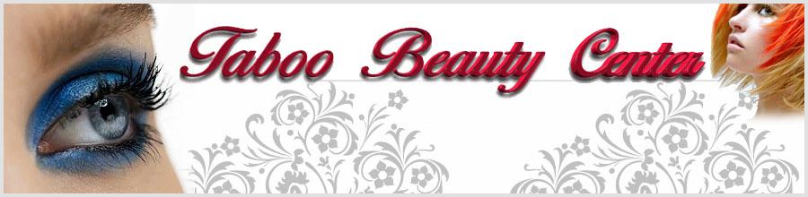 TABOO BEAUTY CENTER Logo