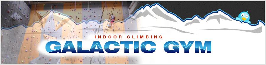 Galactic Indoor Climbing Logo