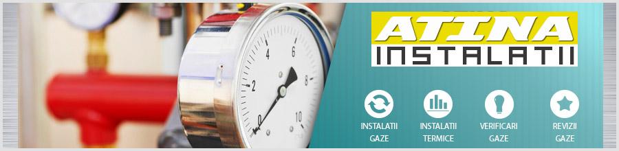Atina Serv - proiectare si executie Instalatii gaze, termice Bucuresti Logo
