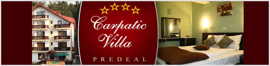 Pensiunea Carpatic Villa Logo