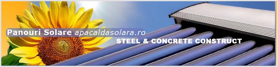 STEEL & CONCRETE CONSTRUCT Logo