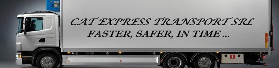 Cat Express Transport - Servicii de transport agabaritic, Drobeta Turnu Severin / Mehedinti Logo