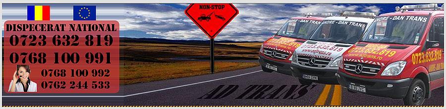 Andre-Dan Trans - Tractari auto Chiajna, Ilfov Logo