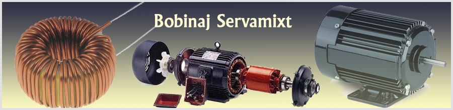 Servamixt Prodcom, Alexandria/Teleorman - Rebobinari motoare electrice Logo