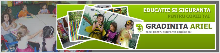 Ariel, Gradinita & After School - Ploiesti Logo