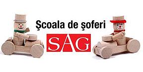 Scoala de soferi Sag Logo
