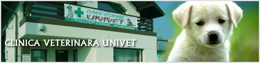 CLINICA VETERINARA UNIVET Logo