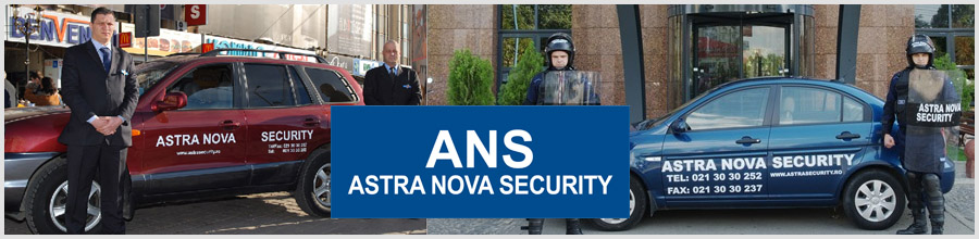 Astra Nova Security - Agentie Paza si Protectie Bucuresti Logo
