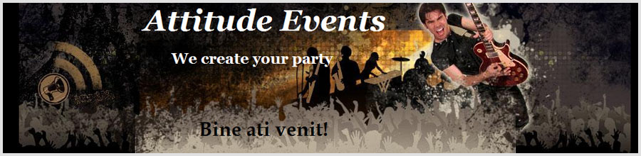 Attitude Music & Events Logo