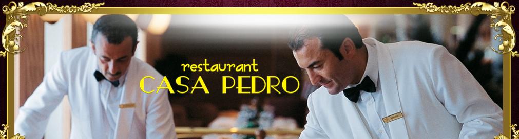 Restaurant CASA PEDRO Logo