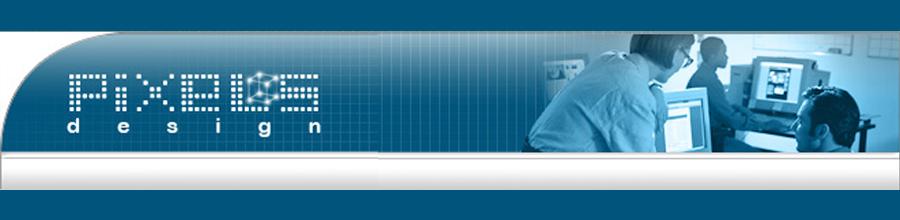 PIXELS DESIGN Logo