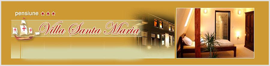 VILA SANTA MARIA - jud. SIBIU Logo