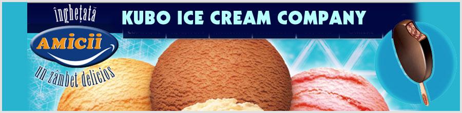 KUBO ICE CREAM COMPANY Logo