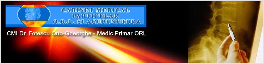 Cabinet Medical de Laserterapie Dr. Fotescu Otto-Gheorghe Logo