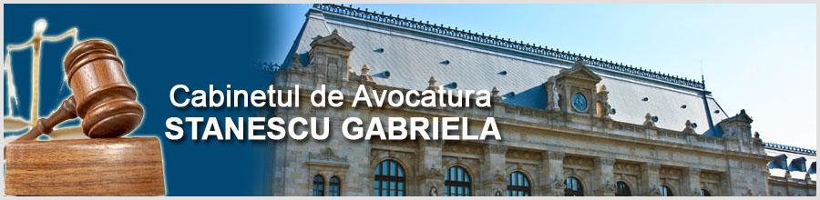 Cabinetul de Avocatura STANESCU GABRIELA Logo
