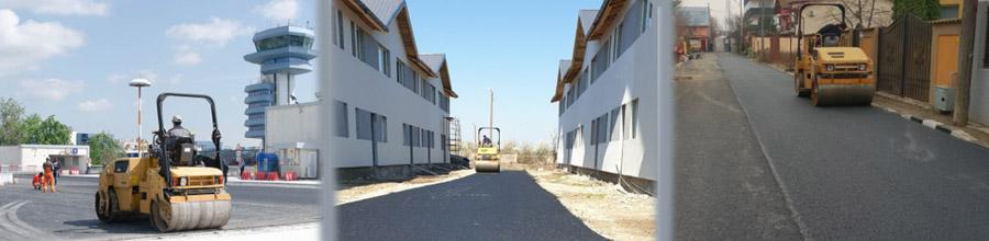 Damo Utilaj Construct, Asfaltari,terasamente, lucrari edilitare - Cornetu / Ilfov Logo