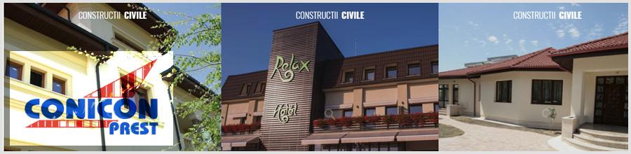 CONICON PREST constructii si instalatii Craiova Logo