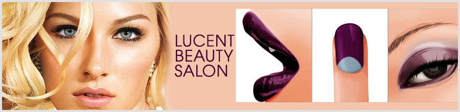 LUCENT BEAUTY SALON Logo