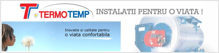 Termotemp - instalatii termice de incalzire, climatizare Bucuresti Logo