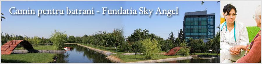 Camin pentru batrani Fundatia Sky Angel Logo