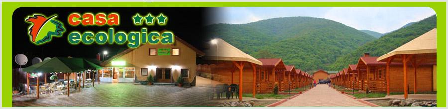 Pensiunea Casa Ecologica*** jud. Caras-Severin Logo