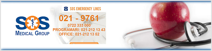 SOS Medical & Ambulance Emergency Services Logo