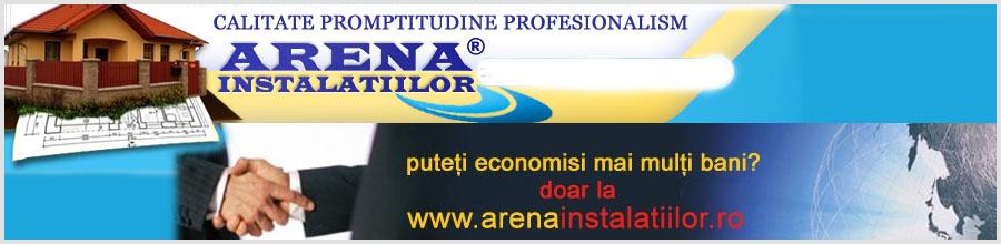 Arena Instalatiilor, Bucuresti - Instaltii termice Logo