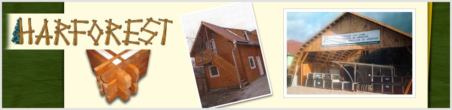 Harforest - Case din lemn, casute de gradina, Gheorgheni / Harghita Logo