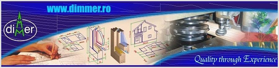 Dimmer - Case de locuit si case de vacanta din lemn, Comanesti / Bacau Logo