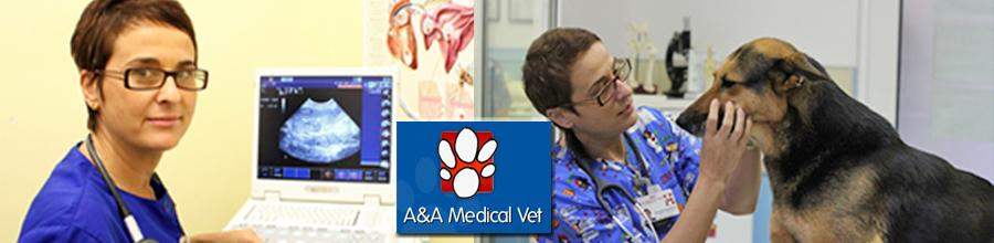 A&A Medical Vet - cabinet veterinar-Bucuresti Logo