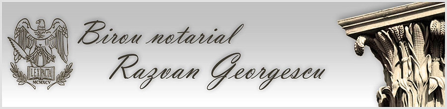 Birou Notarial GEORGESCU RAZVAN Logo