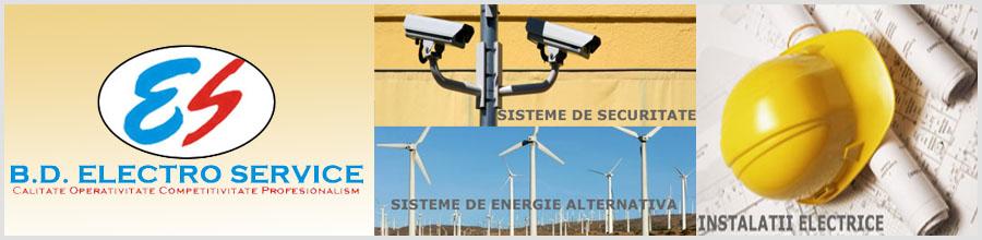 B.D. Electro Service, Instalatii electrice si sisteme de alarma - Botosani Logo