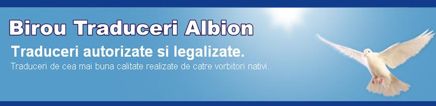 Birou Traduceri Albion Logo