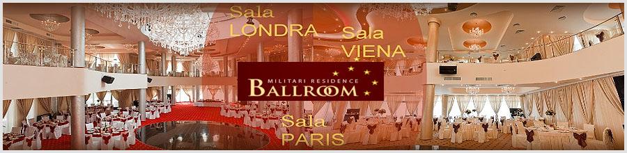 Militari Residence Ballroom Logo