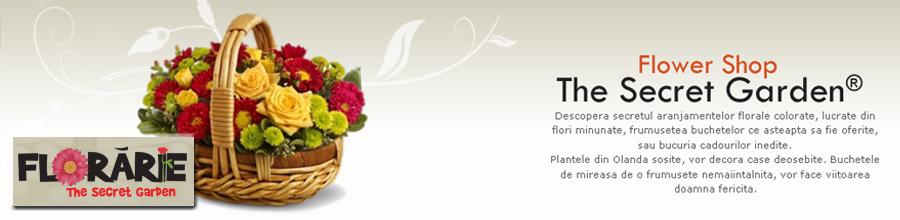 Florarie - The Secret Garden Logo