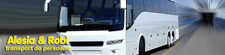 Alesia & Robi Transport de persoane Logo