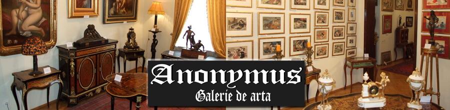 GALERIA DE ARTA ANONYMUS Logo