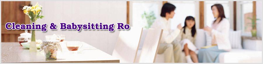 Cleaning & Babysitting Ro Logo