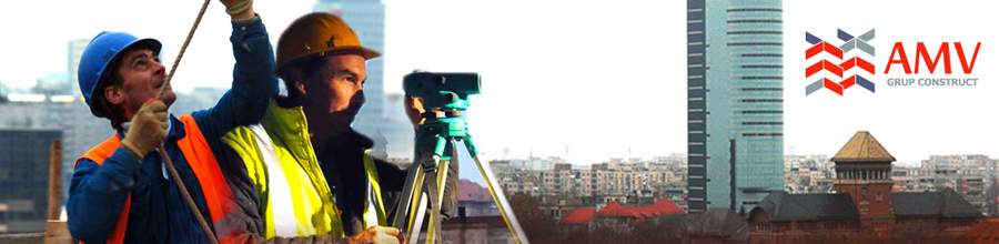 AMV GRUP CONSTRUCT Constructii civile si industriale Bucuresti Logo