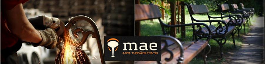 MAE - Turnatoria de fonta, Bucuresti Logo