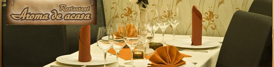 Restaurant Aroma de Acasa Logo