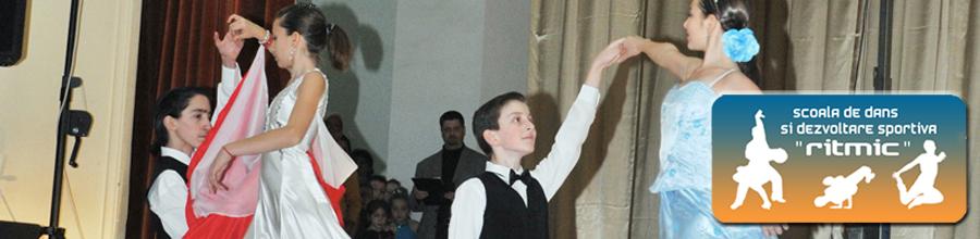 Scoala de Dans si Dezvoltare Sportiva Ritmic Sibiu Logo