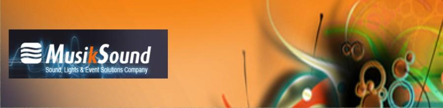 Musik Sound - servicii scenotehnice profesionale Bucuresti Logo