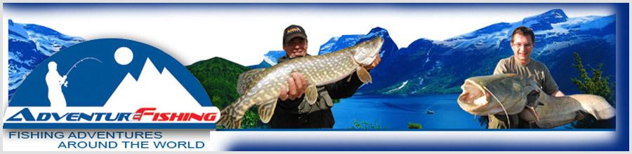 Agentia de turism Adventure Fishing Logo