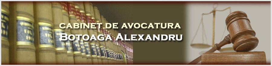 Cabinet de Avocat Botoaga Alexandru Logo