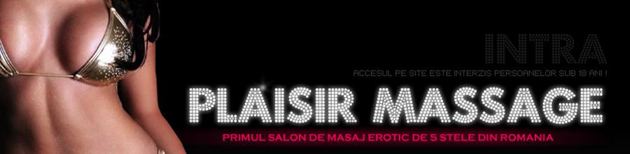 PLAISIR MASSAGE Logo