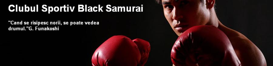 Clubul Sportiv Black Samurai Logo