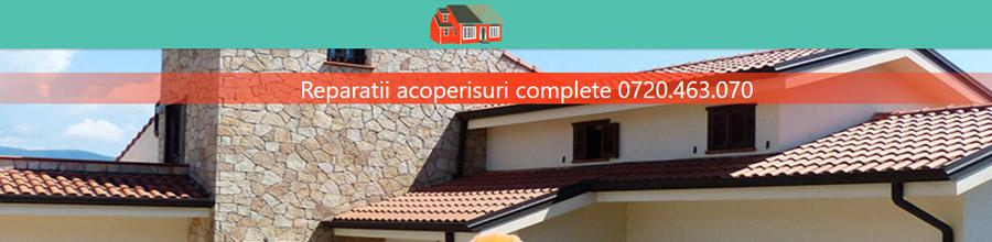 Montaj si reparatii acoperisuri complete, Bucuresti Logo